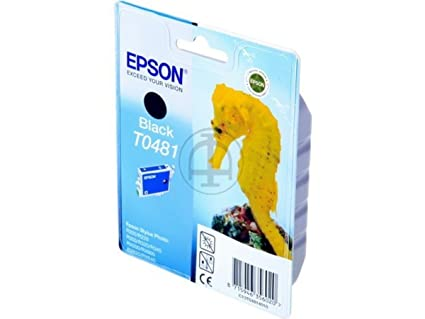Epson Stylus Photo R 220 (T0481 / C 13 T 04814010) - original - Ink cartridge black - 450 Pages - 13ml
