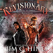 Revisionary: Magic ex Libris, Book 4 Audiobook by Jim C. Hines Narrated by David DeVries