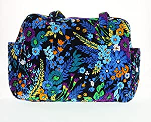 vera bradley baby bag midnight blues with solid navy interior. Black Bedroom Furniture Sets. Home Design Ideas