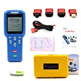 Xtool X300-Plus OBD2 Car Diagnostics Scan Tool with Auto Key Programmer and Oil Services Reset for OBDII Vehicle - Blue (Color: X300-Plus, Tamaño: Middle)