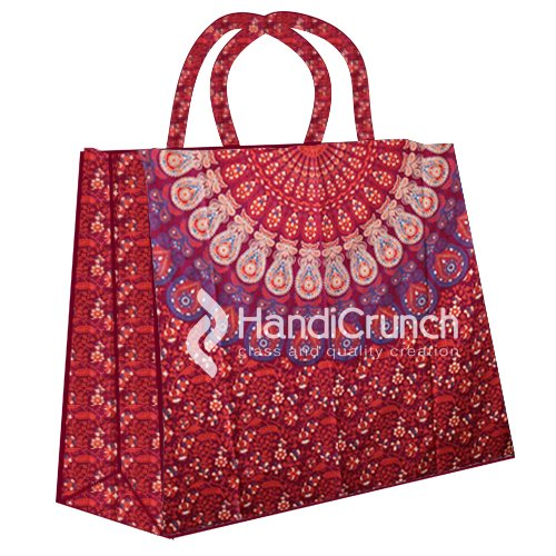 handicrunch-bolsa-de-bella-flor-roja-compras-de-la-impresion