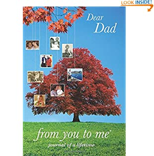 Dear Dad, from you to me Tree design (Journals of a Lifetime) (Hardcover)