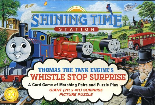 Thomas The Tank Engine's Whistle Stop Surprise - A Matching Pairs Card Game - 1