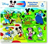 Mickey Mouse Clubhouse Wooden Chunky Puzzle
