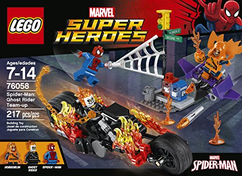 LEGO Super Heroes 76058 Spider-Man: Ghost Rider Team-up Building Kit (217 Piece) at Gotham City Store