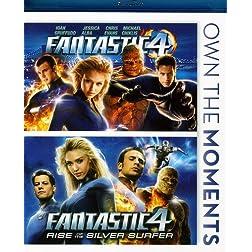 Fantastic Four / Fantastic Four: Rise of Silver [Blu-ray]