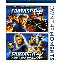 Fantastic Four / Fantastic Four: Rise of Silver [Blu-ray]
