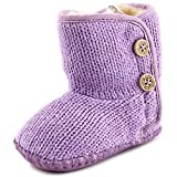 New Ugg Australia® Girls Ugg Baby Purl Bootie Cotton Wool