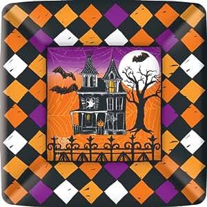 Piatti quadrati piani halloween casa e cucina for Piani cucina quadrati