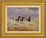 荒野の群馬 アルボー(複製名画・F6号)【送料無料】