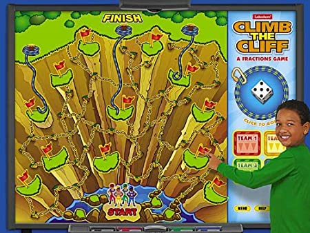 Climb the Cliff Interactive Fractions Game