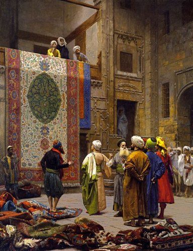 Artifact Puzzles - Jean Leon Gerome the Carpet Merchant