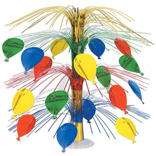 Beistle 50554 Balloon Cascade Centerpiece, 18-Inch - 1