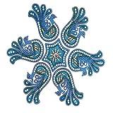 Ghasitaram Gifts Decorative Acrylic Rangoli 1515