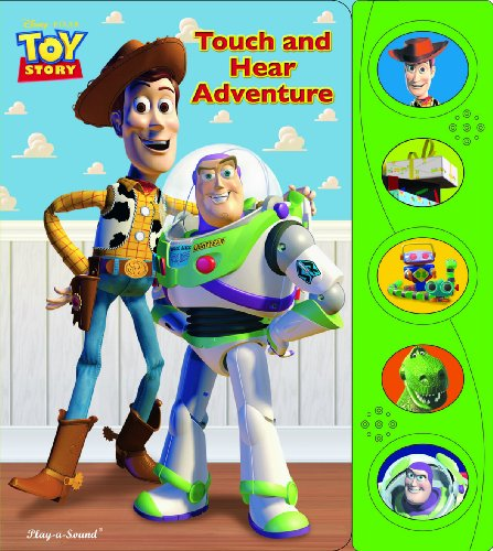Play-A-Sound: Toy Story Touch And Hear Adventure (Play-A-Sound Books) front-958886