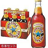 【イギリス お土産】ニューキャッスル ブラウンエール6本セット(イギリス ビール)