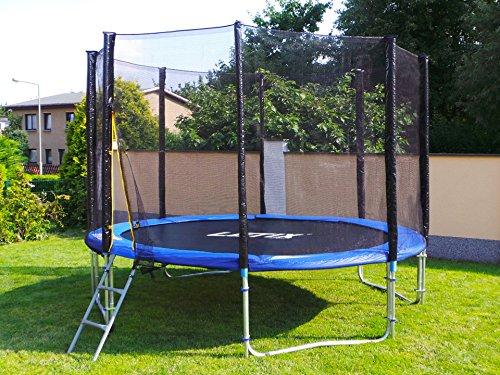 Trampolin mit Sicherheitsnetz, inklusive Leiter und Randabdeckung Gartentrampolin 250, 305, 370, 400, 430cm (10FT / 305cm) kaufen