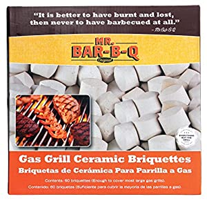 Mr Bar B Q 06000X Gas Grill Ceramic Briquettes from MR BAR B Q