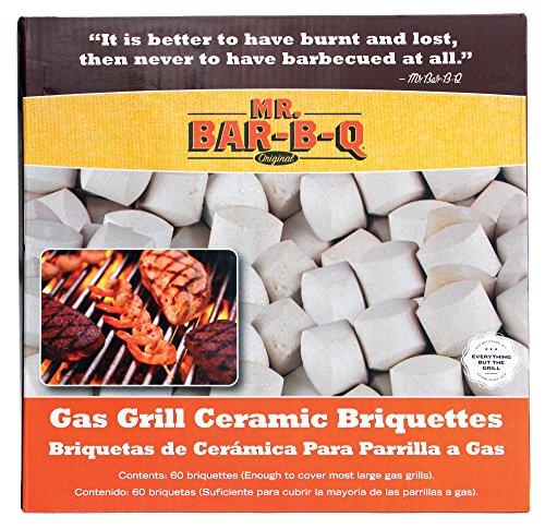 Mr Bar B Q 06000X Gas Grill Ceramic Briquettes (Ceramic Barbecue Grill compare prices)