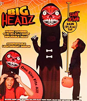 Big Headz Inflatable Costume