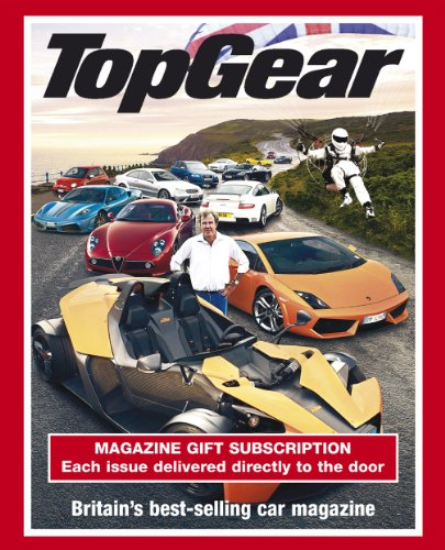 Top Gear Subscription Gift Pack ( 12 issues)
