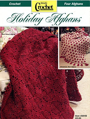 Holiday Afghans - McCall's Crochet Pattern Leaflet #2046
