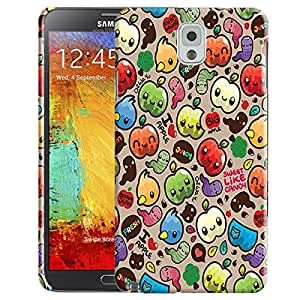 Theskinmantra I Love Apple back cover for Samsung Galaxy Note 3