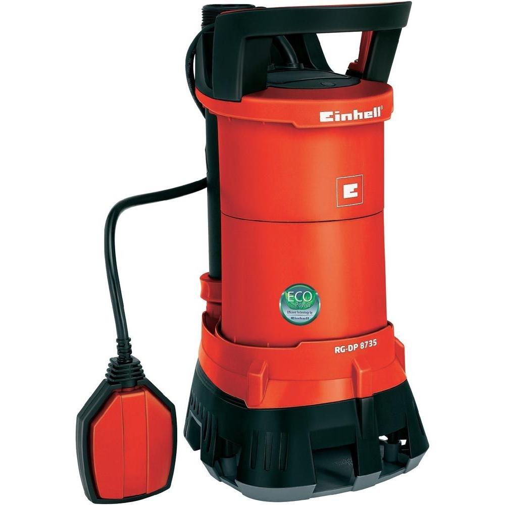 Einhell RGDP 8735 Schmutzwasserpumpe, 690 Watt, max. 17.500 l/h, Fremdkörper bis 35 mm, ECO Power  BaumarktÜberprüfung und Beschreibung