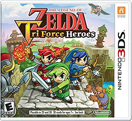 The Legend of Zelda: Tri Force Heroes - 3DS [Digital Code]