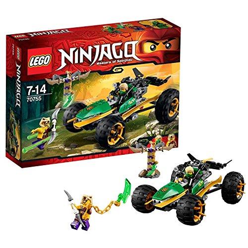 Lego Ninjago - Playthèmes - 70755 - Jeu De Construction - Le Buggy De La Jungle