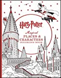 Harry Potter Magical Places & Characters Coloring Book...