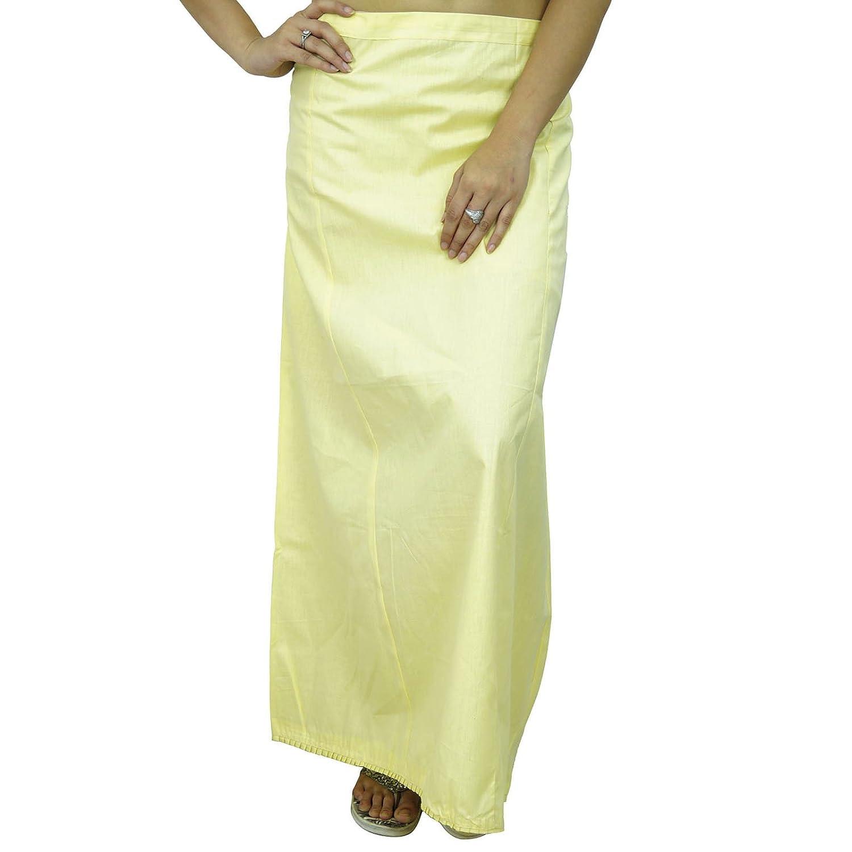 Petticoat Frauen Bollywood Indian Cotton Underskirt Futter für Sari