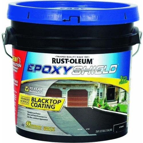 Rust Oleum 247471 Blacktop Driveway Coating