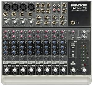 Mackie 1202-VLZ3 12-Channel Compact Recording/SR Mixer