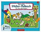 Mein erstes Sticker-Malbuch: Mit über 60 Stickern