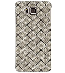 PrintDhaba Pattern D-5316 Back Case Cover for SAMSUNG GALAXY ALPHA (Multi-Coloured)