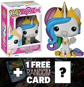 Amazon Com Celestia Funko Pop X My Little Pony Vinyl