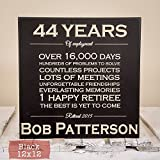 Personalized Retirement Gift - Wood Engraving - Retirement Gifts for Men - Retirement Gifts for Women