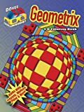 img - for 3-D Coloring Book - Geometrix (Dover 3-D Coloring Book) by Jennifer Lynn Bishop (2011-11-11) book / textbook / text book