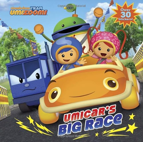UmiCars Race Team Umizoomi Pictureback