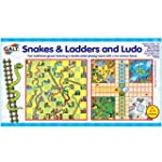 Galt Toys Snakes and Ladders Ludo Gam...