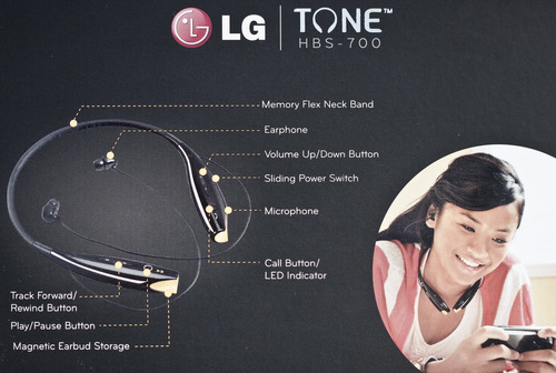 how to charge lg bluetooth headset