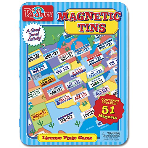 TS-Shure-License-Plate-Game-Magnetic-Playset