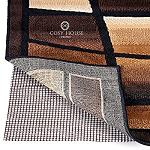 High Quality Non-Slip Area Rug Pads by Cosy House - Fully Washable, Best Pad for Firm Hold on Oriental, Traditional or Contemporary Rugs & Mats on Hard Surface Floors Like Wood, Tile or Cement (2 x 4)