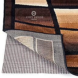 High Quality Non-Slip Area Rug Pads by Cosy House - Fully Washable, Best Pad for Firm Hold on Oriental, Traditional or Contemporary Rugs & Mats on Hard Surface Floors Like Wood, Tile or Cement (2 x 3)