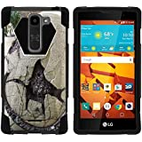 LG Volt II Case, Stout Armor SHOCK Impact Case w/ Kickstand - Dinosaur Collection - for LG Volt 2 LS751 from Boost...