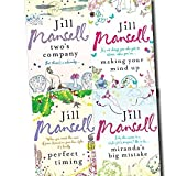 Jill Mansell Collection 4 Books Set (Perfect Timing, Making Your Mind Up, Miranda's Big Mistake, Two's Company) Jill Mansell