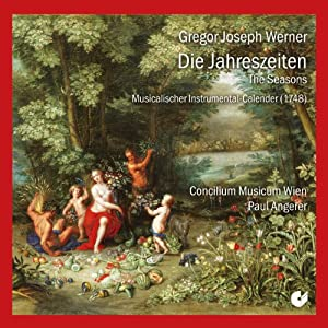 Werner: The Seasons - Musical Instrumental Calendar (1748) from Christophorus