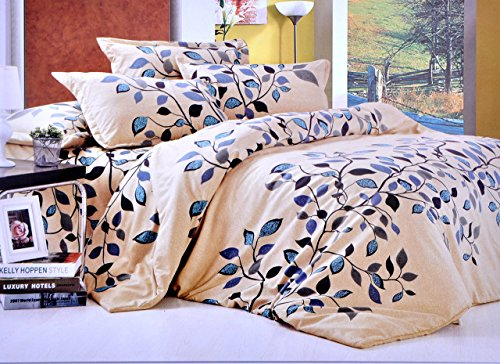 Hashcart Floral Cotton Double Bedsheet With 2 Pillow Covers - Diwali Gift Pack (Bombay Dyeing Bed Sheets compare prices)