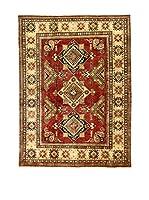 L'Eden del Tappeto Alfombra Uzebekistan Rojo / Beige 206  x  296 cm